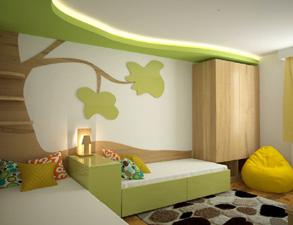mieszkanie limonka