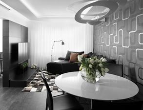Mieszkanie black&white