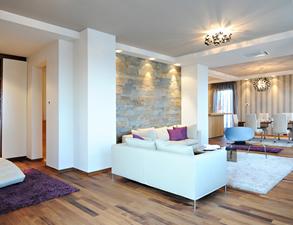Mieszkanie kamień style